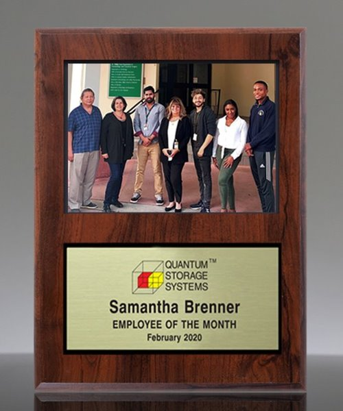 Picture of Employee Award Photo Plaque
