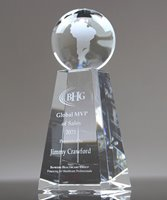 Picture of Top of the World Globe Award