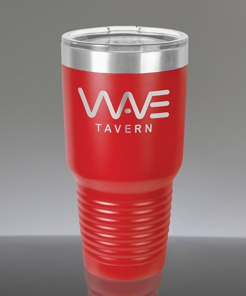 Picture of Laser Engraved Polar Camel 30 oz. Red Insulated Tumbler