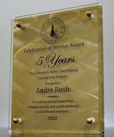 Picture of Employee Spotlight Gold Award Plaque