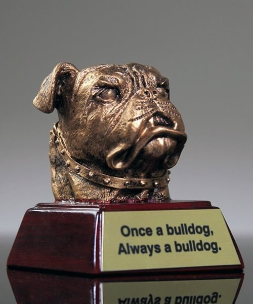 Picture of Bulldog Mascot Trophy