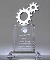 Picture of Top Gears Crystal Plaque