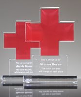 Picture of Red Cross Acrylic Award