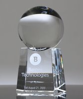 Picture of Crystal Ball Award