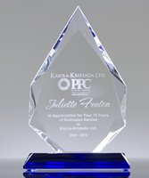 Picture of Dedicated Service Crystal Award