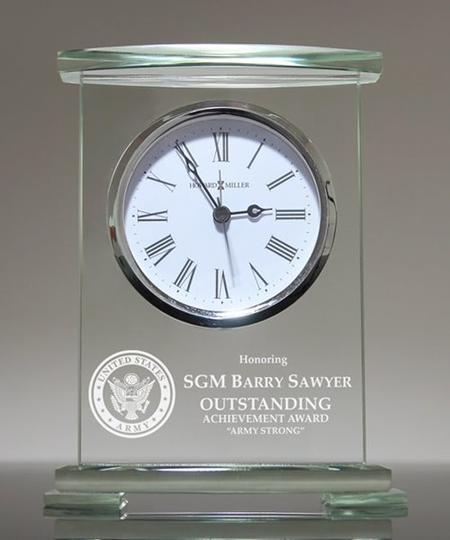 Picture of Army Retirement Award Clock