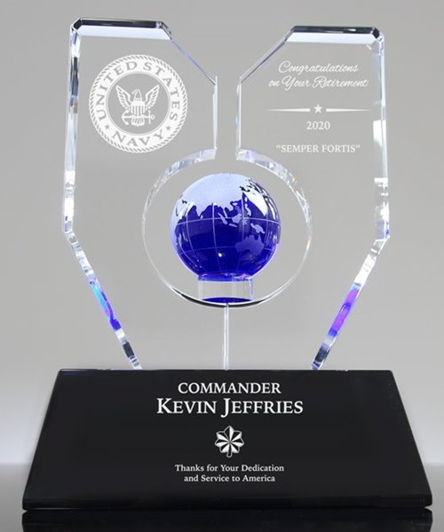 Picture of U.S. Navy Retirement Trophy