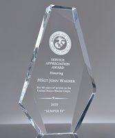 Picture of U.S. Navy Appreciation Award Crystal