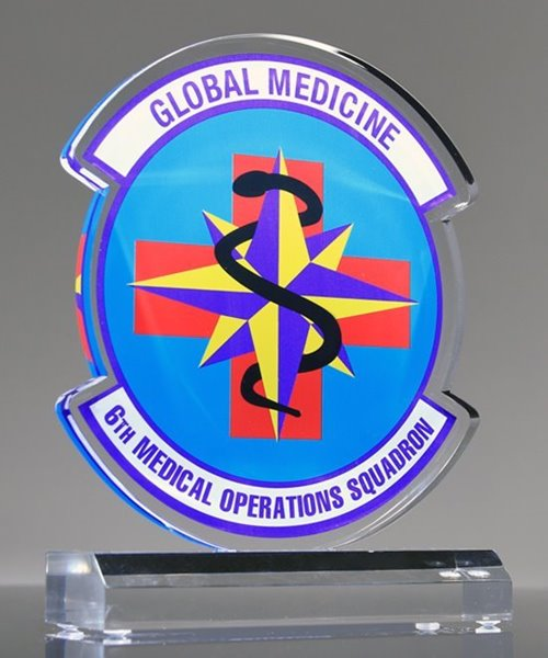 Picture of Medical Squadron Custom Military Award