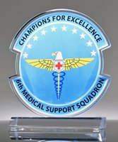 Picture of Medical Support Squadron Military Award