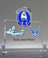 Picture of Air Force Operations Custom Acrylic Trophy