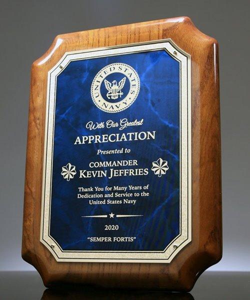 Picture of Service Appreciation Award Plaque