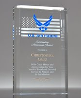 Picture of Military Achievement Award Crystal