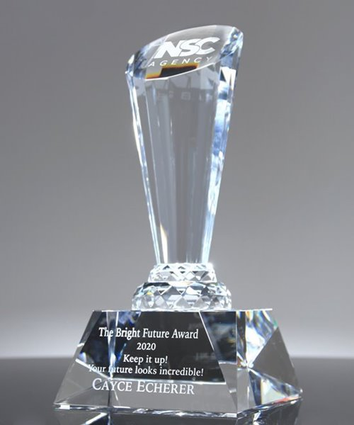 Picture of Recognition Spotlight Crystal Award