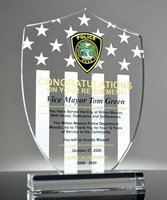 Picture of Police Shield Retirement Award