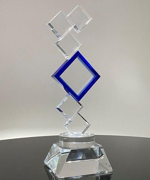 Picture of Employee Appreciation Crystal Blocks Award