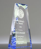 Picture of Sapphire Jewel Acrylic Award