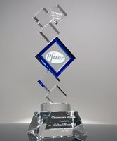 Picture of Employee Appreciation Crystal Blocks Award