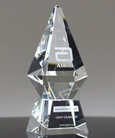 Picture of Excellence Award Crystal Obelisk