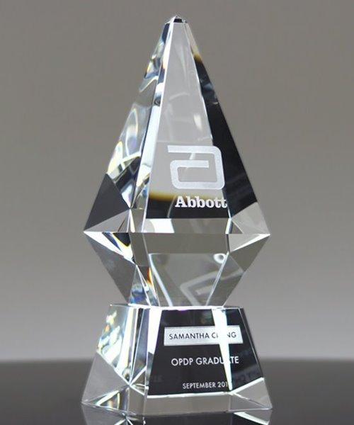 Picture of Excellence Award Crystal Obelisk