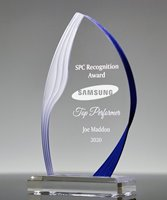 Picture of Blue Ridge Acrylic Flame Award