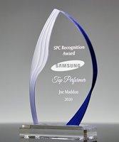 Picture of Blue Ridge Acrylic Flame Award
