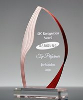 Picture of Red Ridge Acrylic Flame Award