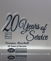 Picture of 20 Years of Service Acrylic Award