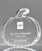 Picture of Acrylic Pumpkin Trophy