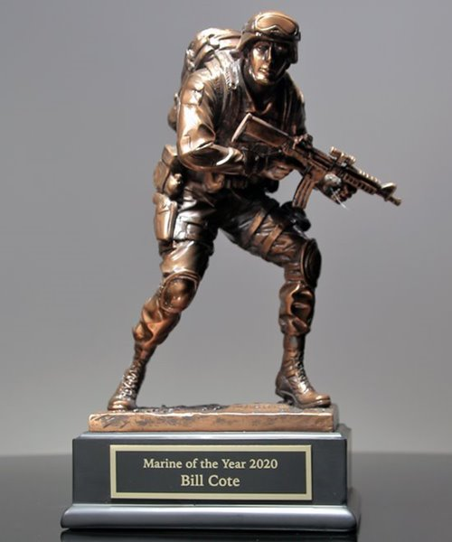 Picture of US Marine Trophy Sculpture