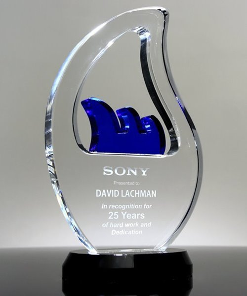 Picture of Crystal Wave Award
