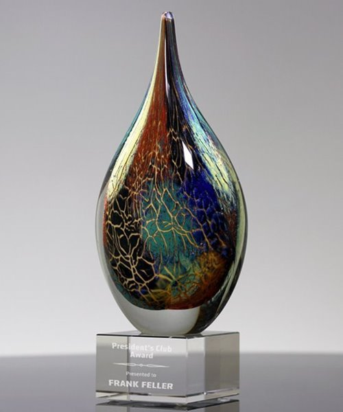 Picture of Coral Reef Art Glass Award