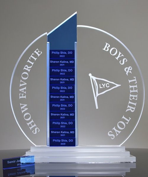 Picture of Forte Perpetual Crystal Award