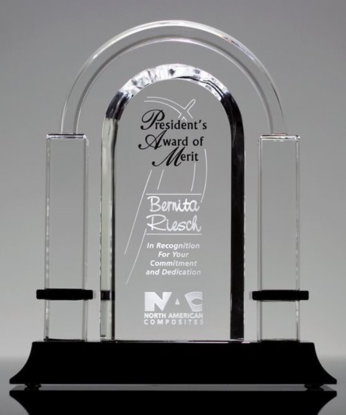 Picture of Biltmore Arch Crystal Award