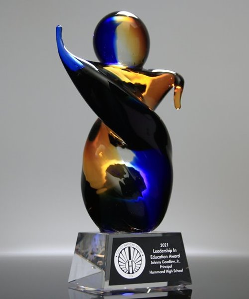 Picture of Fulcrum Art Glass Award