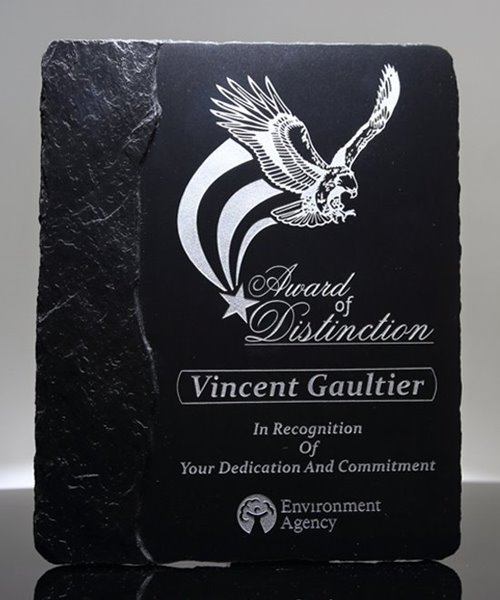 Picture of Chiseled Slate Award Plaque