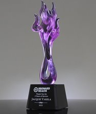 Colored Crystal Awards: Reward Your Employees with Art