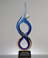 Picture of Solo Rising Art Glass Award