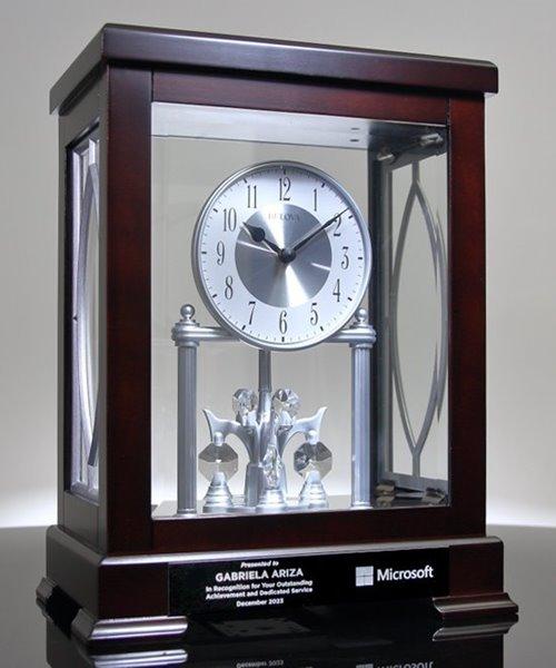 Picture of Bulova Empire Anniversary Clock