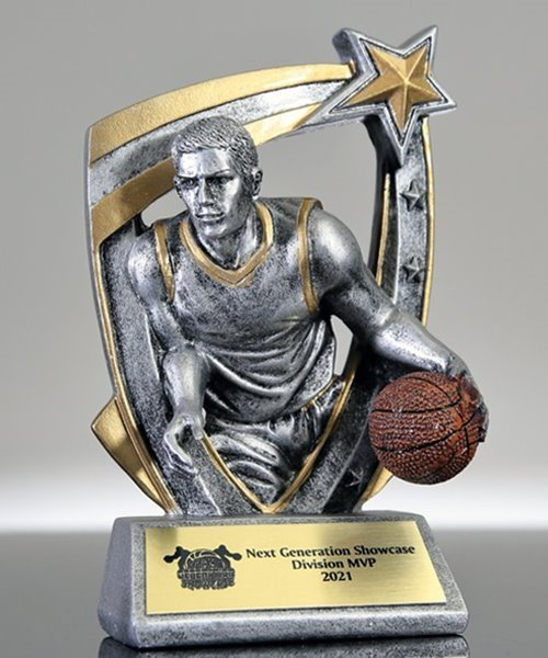 Picture of Basketball 3D Star Award