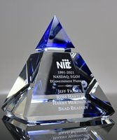 Picture of Apex Crystal Pyramid Award
