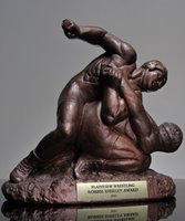 Picture of Large Wrestling Guillotine Trophy