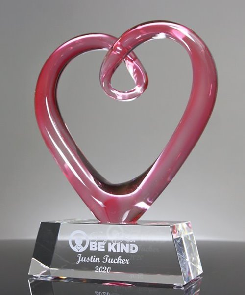 Picture of Valerian Crystal Heart Award