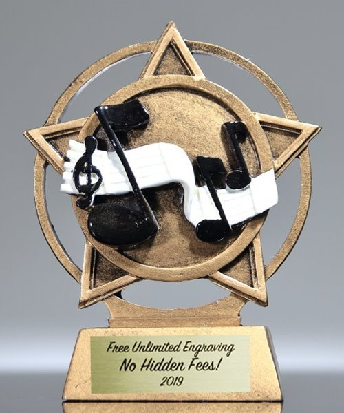 Picture of Orbit Music Trophy