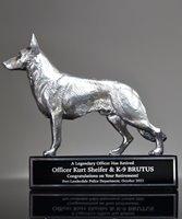 Picture of German Shepherd K9 Award