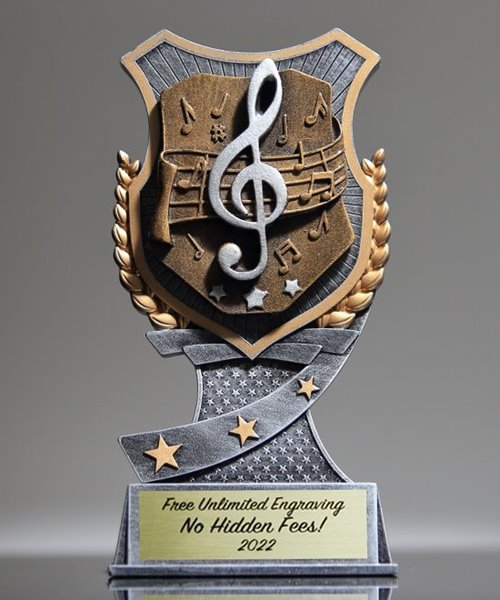 Picture of Pro Shield Music Trophy