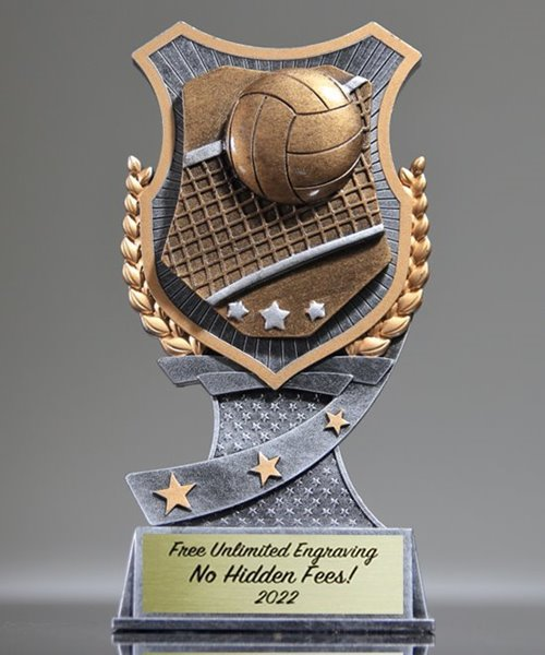 Picture of Pro Shield Volleyball Trophy