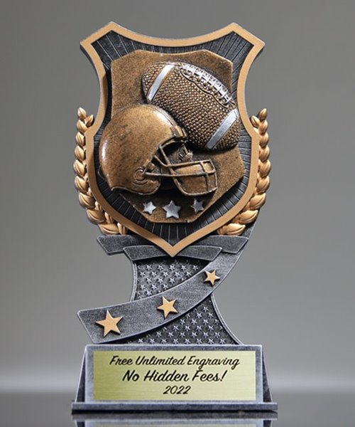Picture of Pro Shield Football Trophy