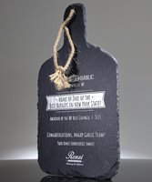 Picture of Engraved Slate Cutting Board with Hanger String