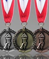 Picture of Olympic Torch Award Medals